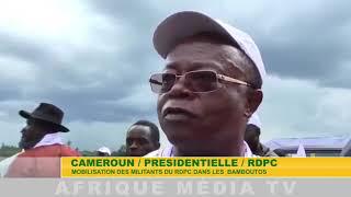 RDPC MOBILISATION DANS LES BAMBOUTOS