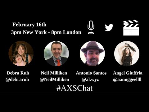 AXSchat with Angel Giuffria.Bionic Actress and Public Speaker