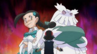 Abomasnow battles Chimchar!   Pokémon: DP Galactic Battles   Official Clip