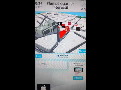 Plan interactif à Paris