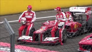 Sebastian Vettel Hungaroring Ferrari racing days 2015.06.28 Full show