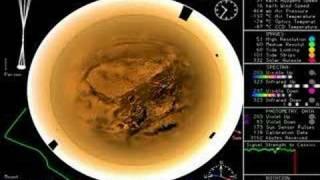 NASA -  Huygens Probe Mission - Decent Camera