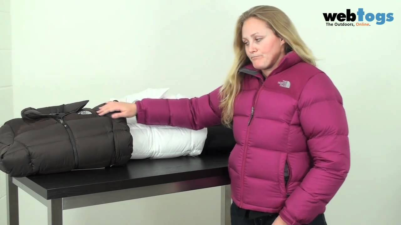 ee76ba7d7257 The Women s North Face Nuptse Jacket - Instant warmth with their iconic  down jacket - YouTube
