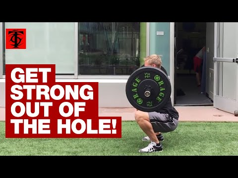 Double-Paused Front Squat