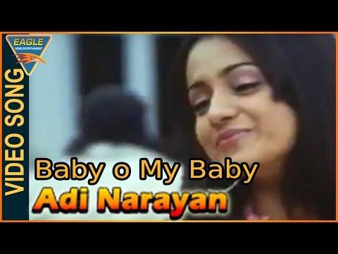 Baby o My Baby Video Song || Adi Narayan Hindi Movie || Vijay, Trisha || Hindi Video Songs