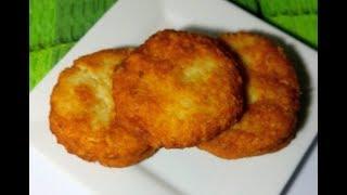 Tortitas de papa y queso (muy facil)