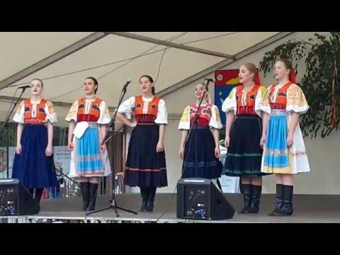 Slovak folk music & dance - FS Marína Zvolen