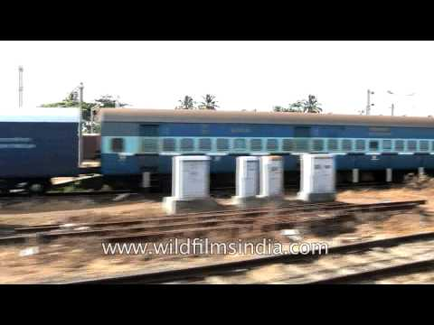 Kerala express train to Trivandrum