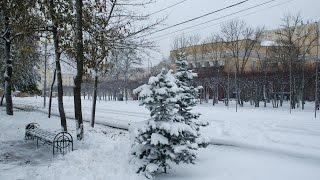 первый снег выпал в Смоленске 26 октября 2016 г.(, 2016-10-26T12:08:36.000Z)