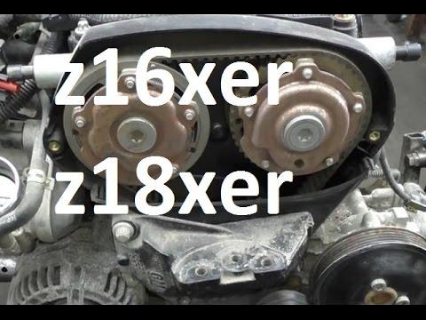 Wymiana Rozrzadu 1 6 1 8 Z16xer Z18xer Astra Vectra
