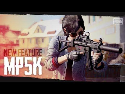 PUBG - New Feature - MP5K