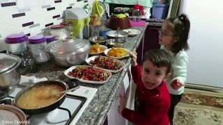 Pırasalı Pirinçli Yemeği Tarifi Günlük Vlog  Şadiye Anne Yemekleri