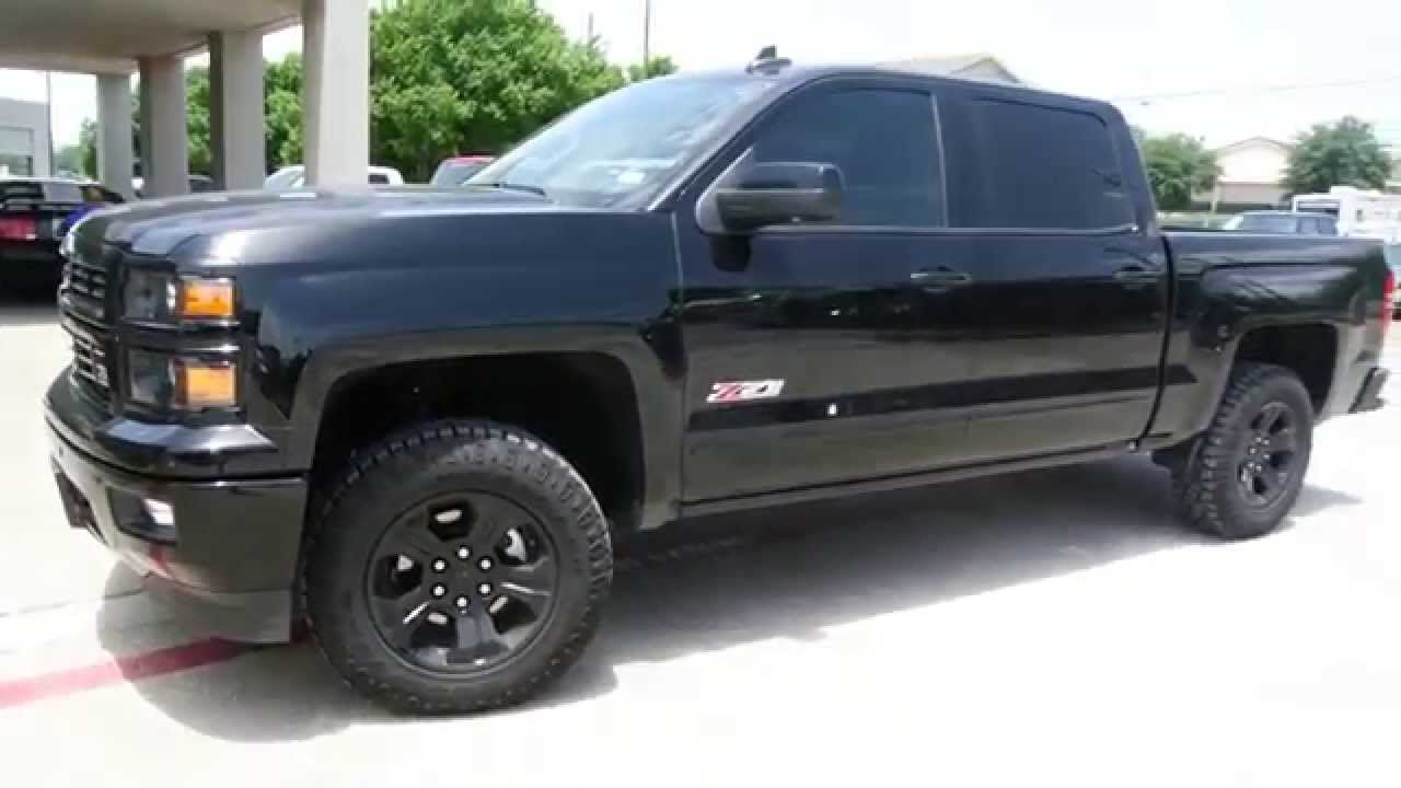 2015 chevrolet silverado midnight edition leveling kit by 4x4works youtube