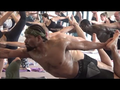 SHAWN PORTER INTENSE HOT YOGA SESSION; DOING HARDEST TYPE OF YOGA AHEAD OF ANDRE BERTO CLASH