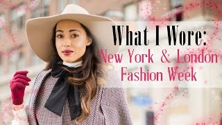 what i wore new york london fashion week   elizabeth keene