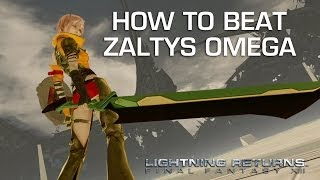 Lightning Returns: Final Fantasy 13 - Zaltys Omega Gameplay