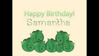 From: Sprouts To: Samantha Barks! :D Happy birthday Sam!!