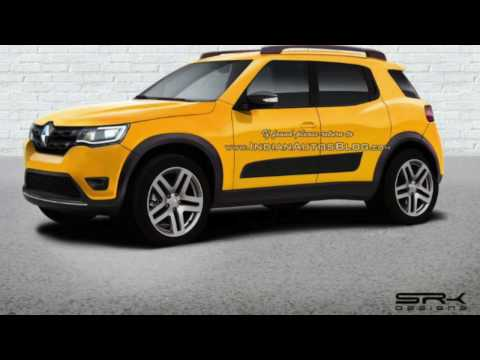 Renault's Upcoming Cars for India 2017-2018-2019