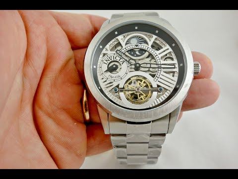 Invicta 25263 Objet D Moonphase Stainless Steel Mens Watch Review