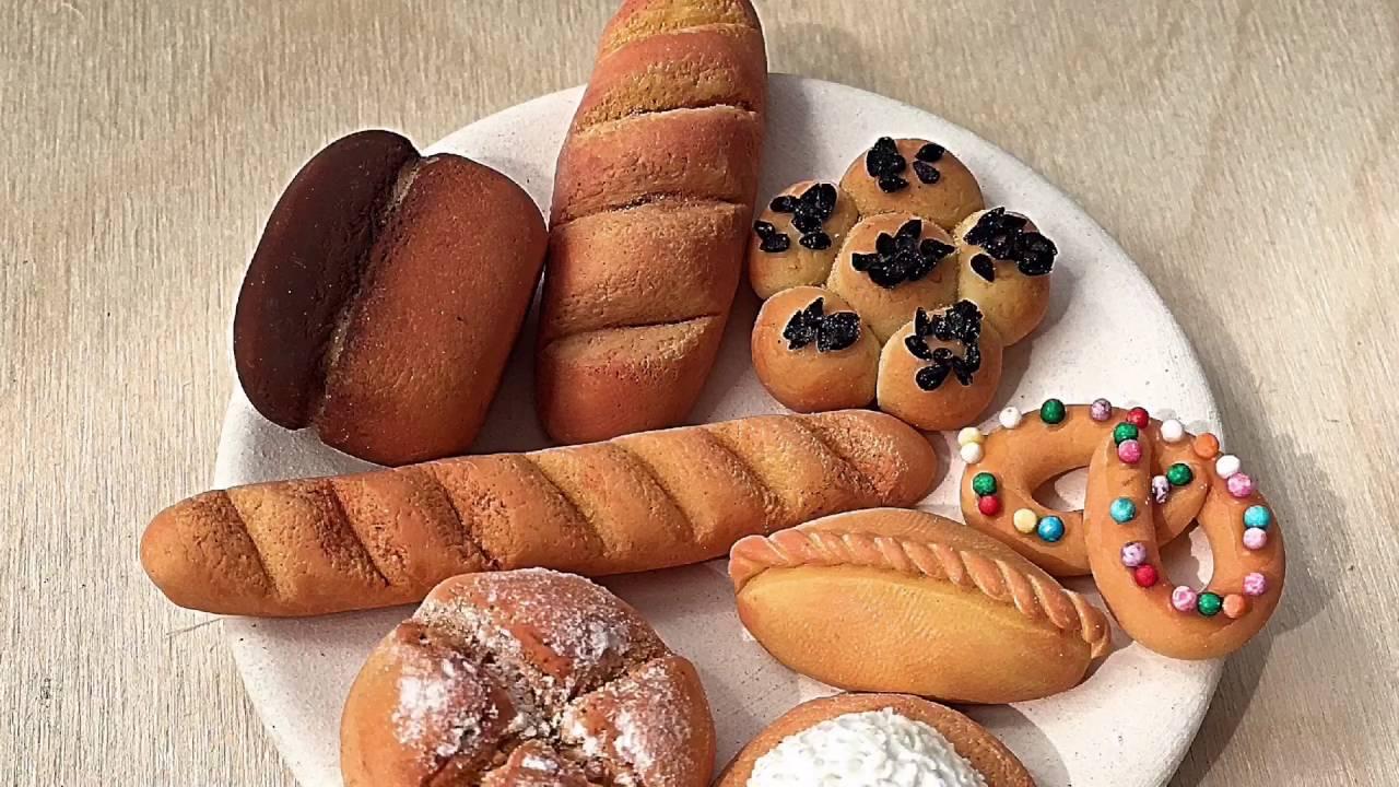 Картинки хлебобулочные изделия из соленого теста