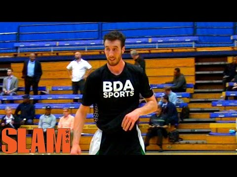 Frank Kaminsky 2015 NBA Draft Workout - Lottery Pick NBA Draft 2015 - Frank The Tank