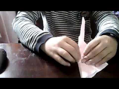 Comment faire une couronne en papier youtube - Comment faire une couronne de l avent ...