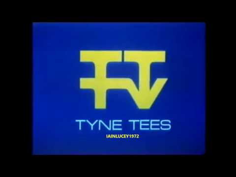 TYNE TEES TELEVISION  IDENT LOGO  TTTV  itv north east england   newcastle  1982   HD