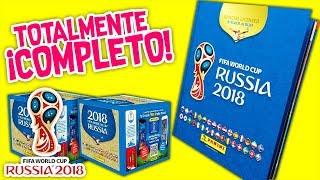 MUNDIAL RUSIA 2018: Álbum PANINI de futbol 100% COMPLETO todas las ESTAMPAS - FIFA WORLD CUP 2018
