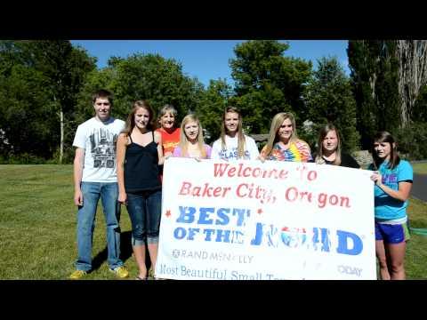 BHS Leadership Welcome to Baker City Oregon BestoftheRoad.MOV
