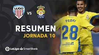 Resumen de CD Lugo vs UD Las Palmas (0-2)
