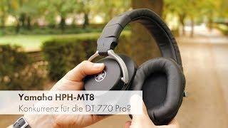 Yamaha HPH-MT8 | 200 Euro Over-Kopfhörer in Studio-Qualität? [Deutsch]
