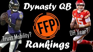 Dynasty/Keeper Quarterback Rankings 2020 | Fantasy Football Prophets