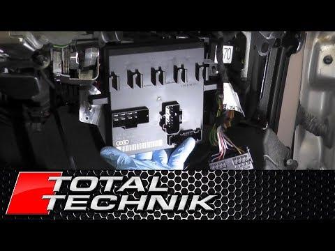 How to Remove Comfort Control Module Power Supply ECU - Audi A4 S4 - B6 B7 - 2001-2008