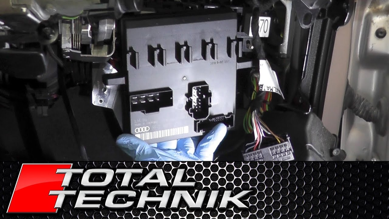 small resolution of how to remove comfort control module power supply ecu audi a4 s4 b6 b7 2001 2008