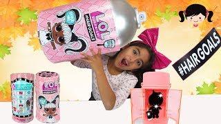 Abriendo Nuevas LOL con Cabello #HairGoals LOL Serie 5 Serie Cambio de Imagen Makeover Serie