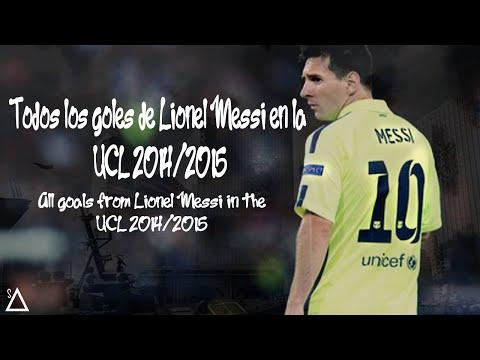 Todos los goles de Lionel Messi en la UEFA Champions League - 2014/2015