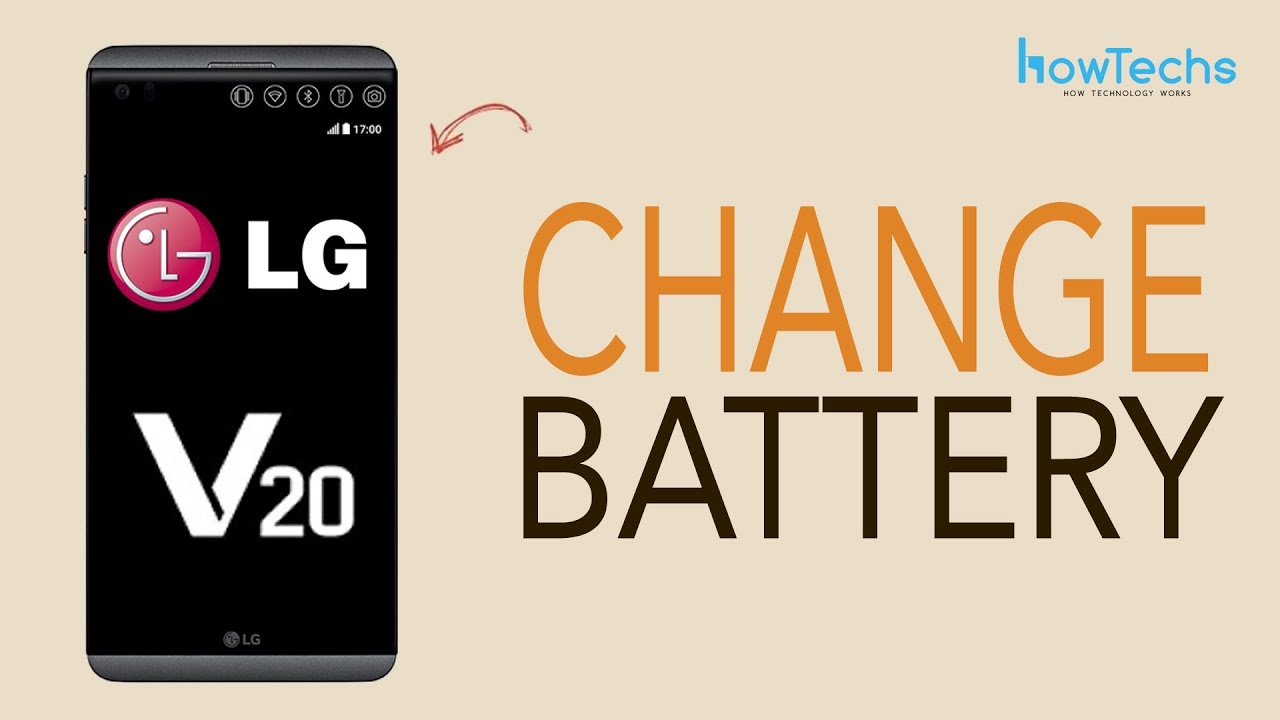 LG V20 - How to change the Battery