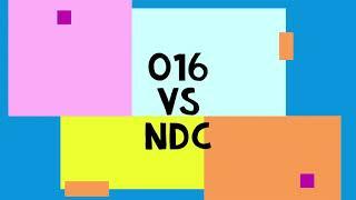 o16 vs NDC