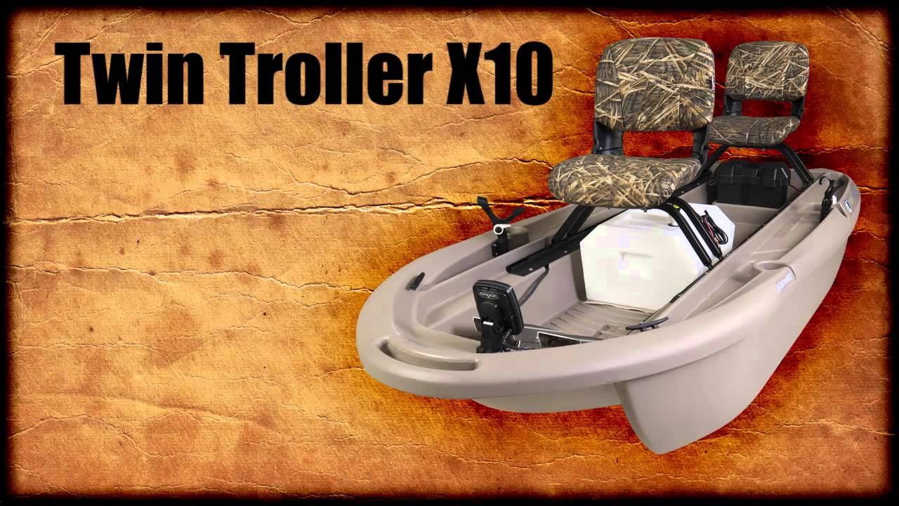 The worlds best 2 man small fishing boat twin troller x10 - Twin Troller X10 Youtube Ad