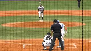 2011年9月23日 亜細亜大 東浜のピッチングです。2008年春の選抜優勝投手...
