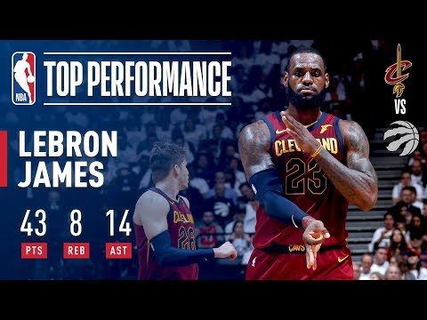 LeBron James' EPIC Game 2 Performance In Toronto