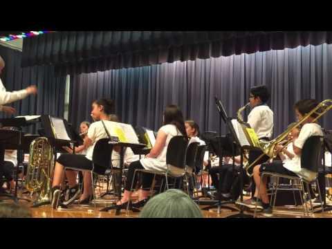 Ritvik Sawhney's lead performance on Alto Sax at Clark Mills School Manalapan NJ May 2017