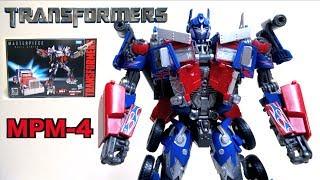 【10周年記念!】トランスフォーマー MPM-4 オプティマスプライム マスターピース ヲタファの変形レビュー / Transformers MPM-4 Optimus Prime