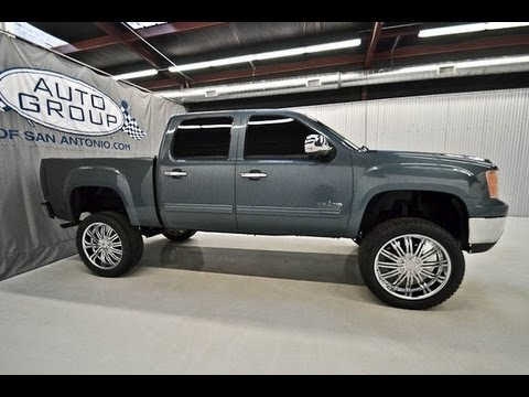 Gmc Denali For Sale >> 2007 GMC Sierra 1500 SLE 2WD Lifted Truck For Sale - YouTube
