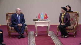 Tin Tức 24h : Chủ tịch Quốc hội Nguyễn Thị Kim Ngân gặp lãnh đạo Đảng Cộng sản nhân dân Kazakhstan