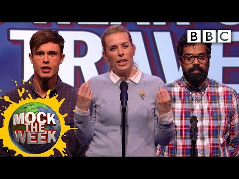 Unlikely things to hear on a travel programme - Mock the Week: Series 14 Episode 6 Preview - BBC Two
