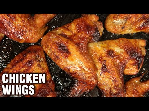 5 Ingredient Chicken Wings Recipe - Quick & Easy Chicken Wings - Party Starter Recipe - Varun