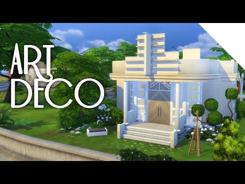 Little Art Deco | The Sims 4 Build