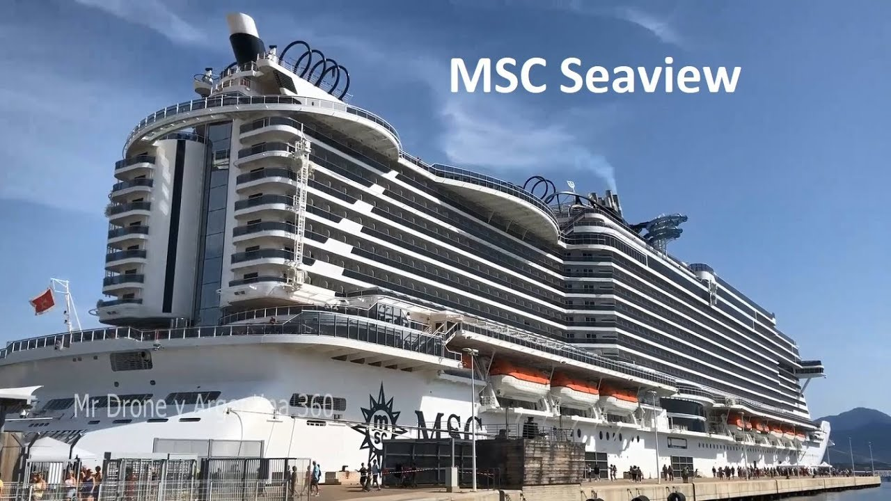 MSC Seaview Crucero Salida desde Barcelona Cataluña España ...