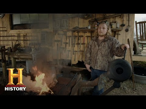Iron & Fire: Charlie and Jonathan Make Hunting Spears   History